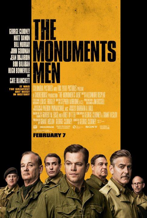 Monumenterne mænd - Plakat
